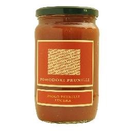 gesch lte prunilli kirschtomaten mit passierten tomaten az agr paolo petrilli. Black Bedroom Furniture Sets. Home Design Ideas