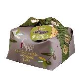 Pasticceria Filippi - Dolce natalizio 100% olio extra vergine di oliva e gocce di cioccolato Vidamà