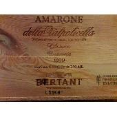 Bertani Amarone della Valpolicella Classico Cassa in legno - 1999