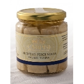 Filetti di Pesce Spada in olio d'oliva in vasetto