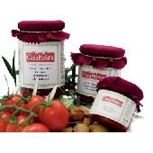 Patè di pomodoro ciliegino aroma Siciliano mandorla - Casa Morana