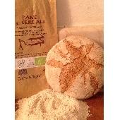 Pane Biologico con Farina  ai 5 Cereali  Cotto a Legna  Forno Astori