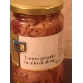 Tonno a Pezzetti in Olio d'Oliva Mare Puro