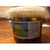 Olive verdi  Siciliane Nocellara del Belice schiacciate in salamoia - Az. Agricola Melia