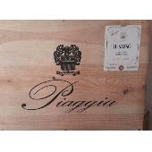 Piaggia- Il Sasso Carmignano DOCG 2007  Cassa 6 Bottiglie