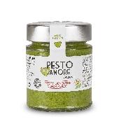 Pesto fresco alla genovese senz'aglio con parmigiano reggiano 25 mesi -  Pexto per Amore