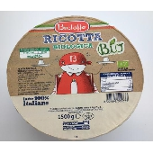 Ricotta Biologica Latte 100% Italiano - Bustaffa