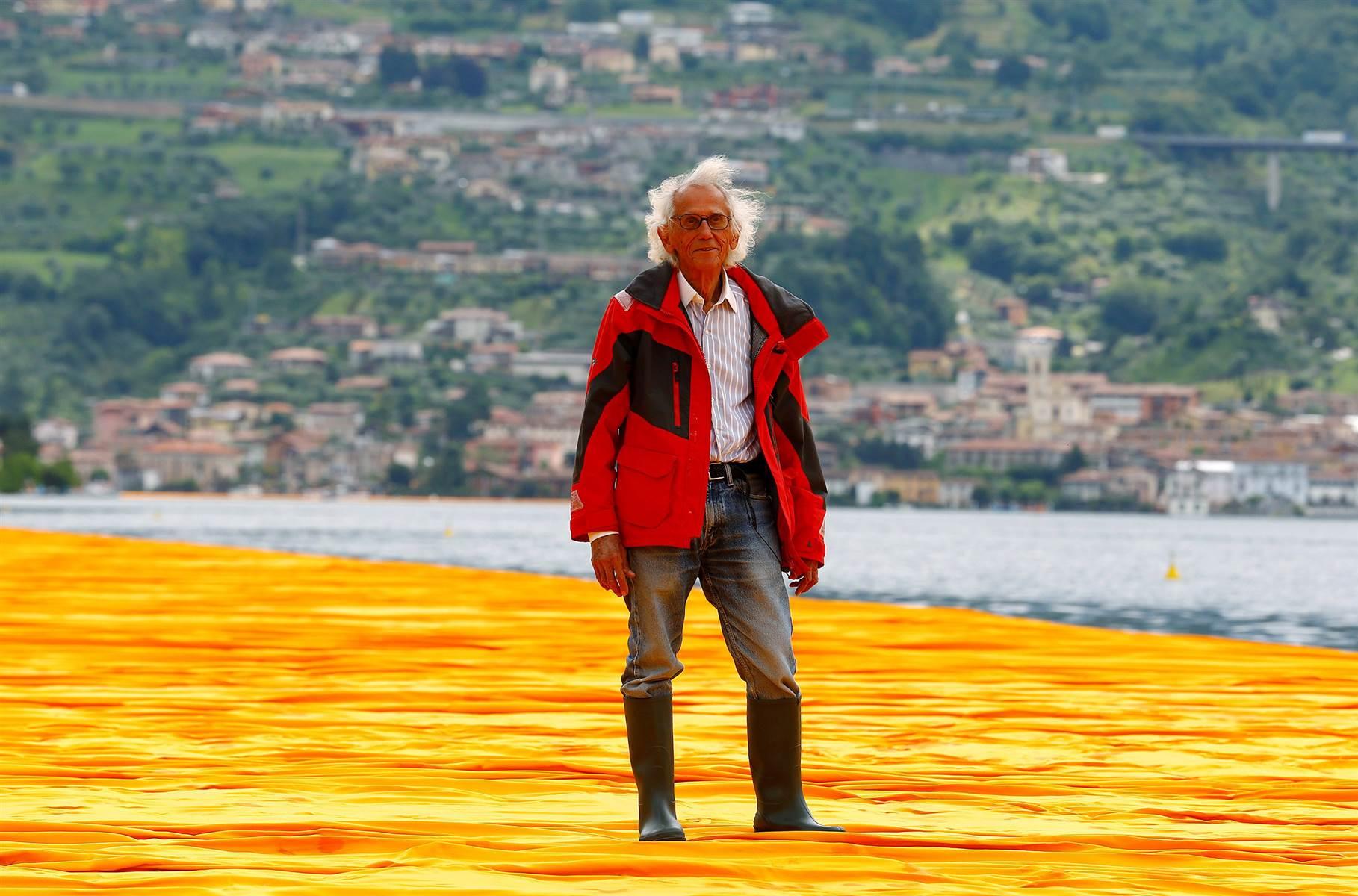 The Floating Piers: la dernière oeuvre de l'artistre célèbre pour ses installations monumentales