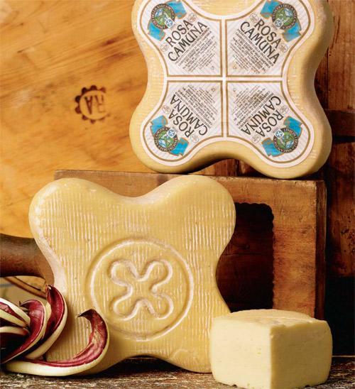 Formaggio Rosa Camuna: antica forma e gusto esclusivo