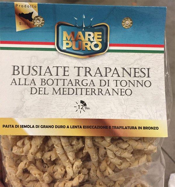 La Bottarga di Tonno Group : Busiate Trapanesi alla Botarga di Tonno del Mediterraneo