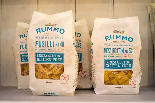 Pasta Rummo - pasta senza glutine, prodotta senza Ogm