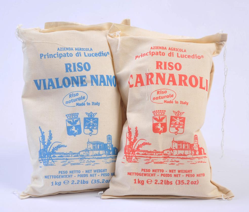 Les variétés de riz de la grande tradition gastronomique italienne et pas seulement…