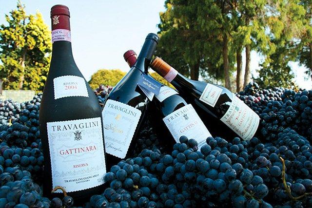 Traviglini Gattinara Weinschenke: ein einmaliger geruchsvoller Wein