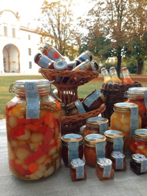 Agricultural Company Pizzavacca: The Authentic in oil Giardiniera
