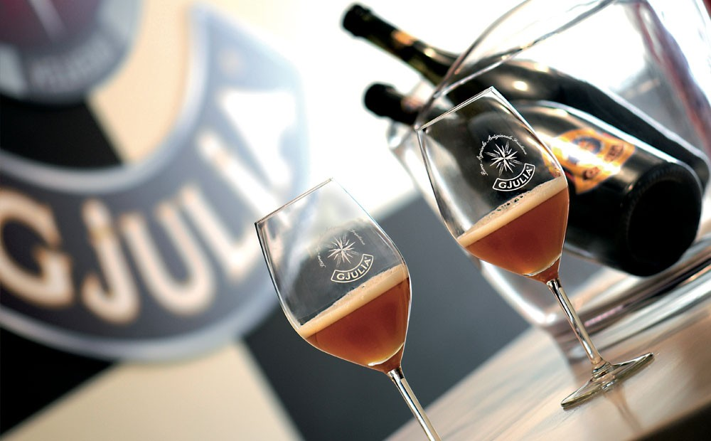 From passion and tradition the agricultural and artisanal beer Julia is born in  Friuli Venezia Giulia