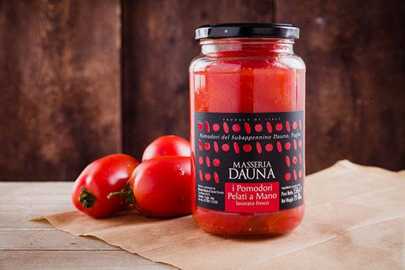 Masseria Dauna: Peeled Apulian Tomatoes