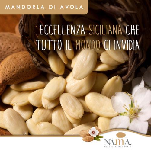 100 % natürliche sizilianische Mandeln