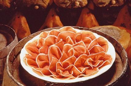 Prosciutto di Parma - l'un des produits les plus représentatifs du Made in Italy.