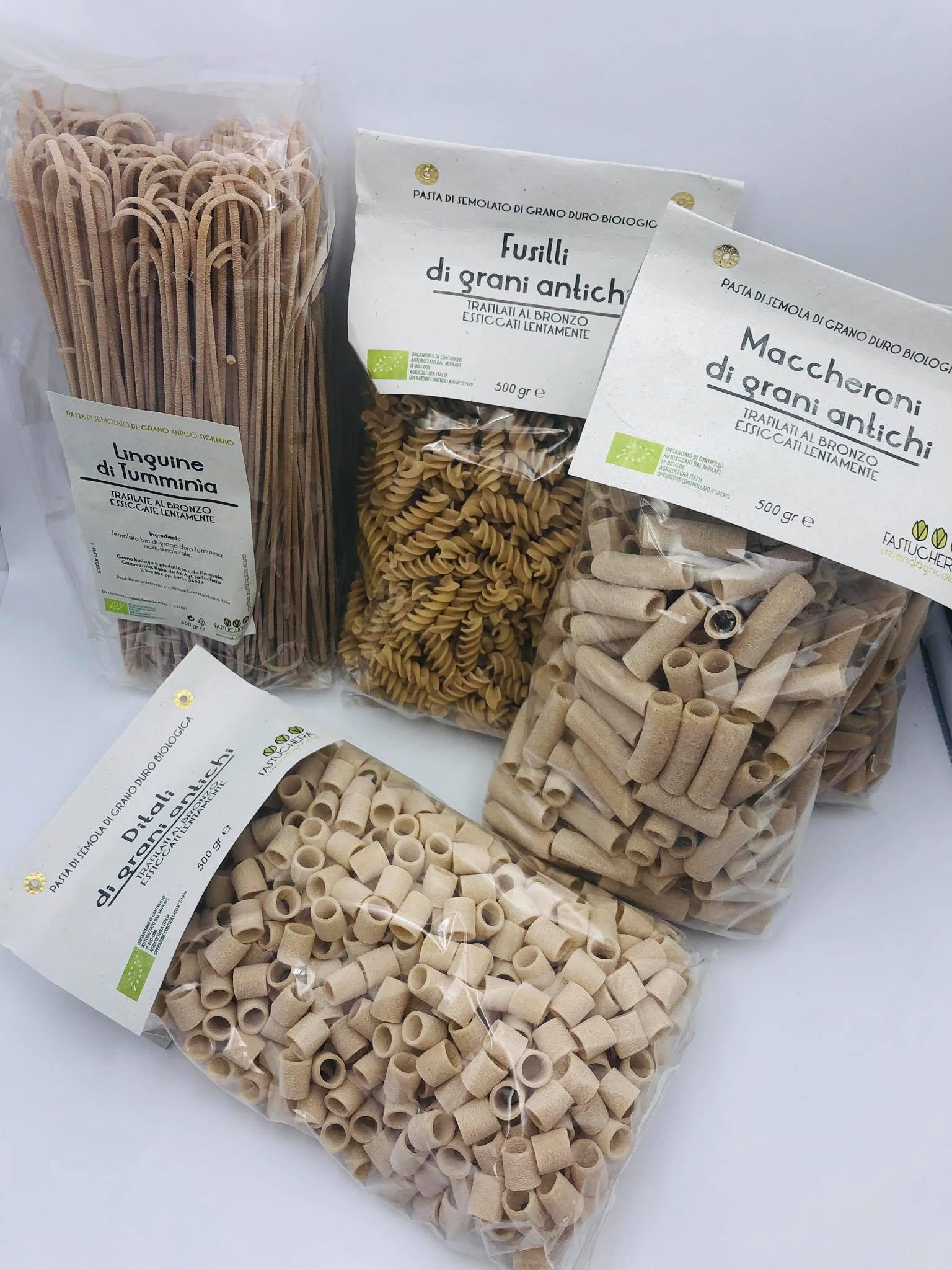 La Fastuchera: pasta integrale di Tumminia sana che non ti farà rimpiangere il sapore di quella di grano duro