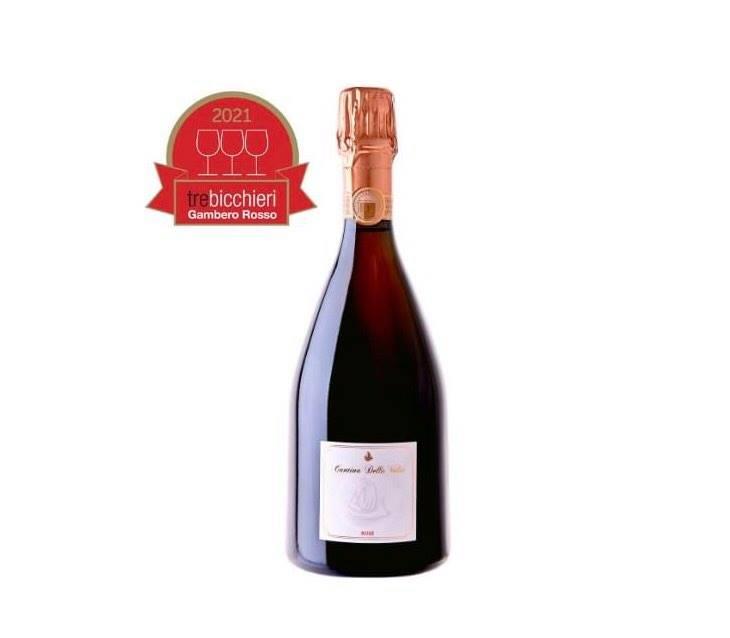 Lambrusco Rosè Cantina della Volta: Tre Bicchieri Gambero Rosso