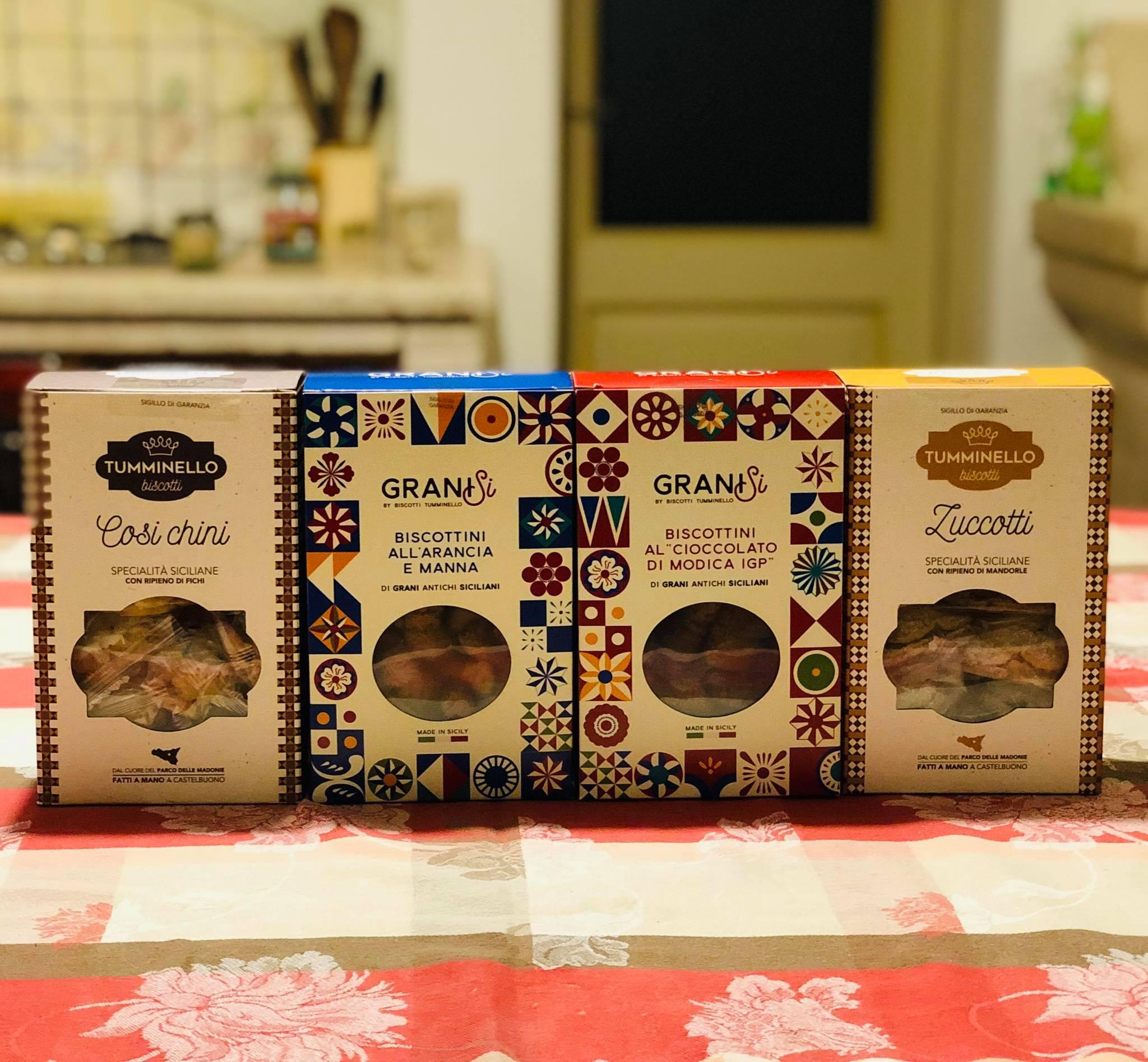 Da Castelnuovo i biscotti belli, buoni e Siciliani di Tumminello