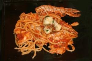 Spaghettis Martelli à la trabacolara