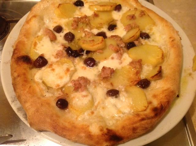 Pizza con Mozzarella di Bufala Campana