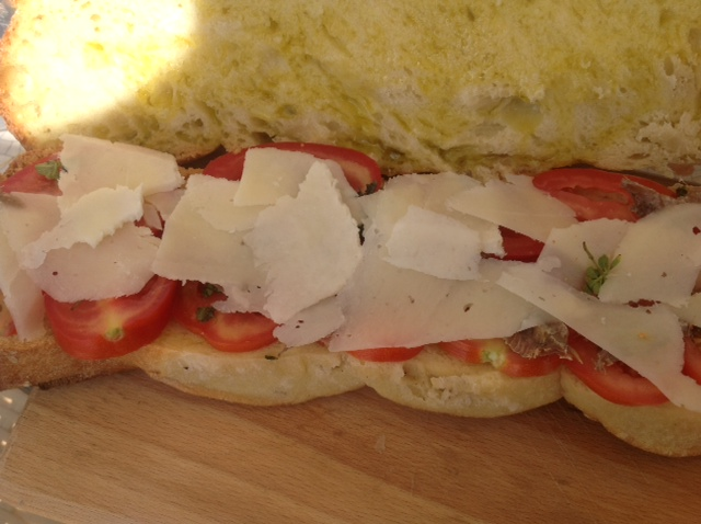 Belegtes Brot aus Sizilien