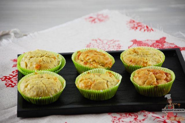 Ricetta inviata da Ingrid:Muffin con Pesto e Mozzarella