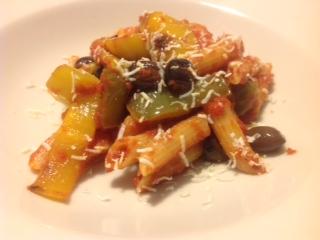 Pasta biológica Petrilli - Penne rigate con salsa de ajíes