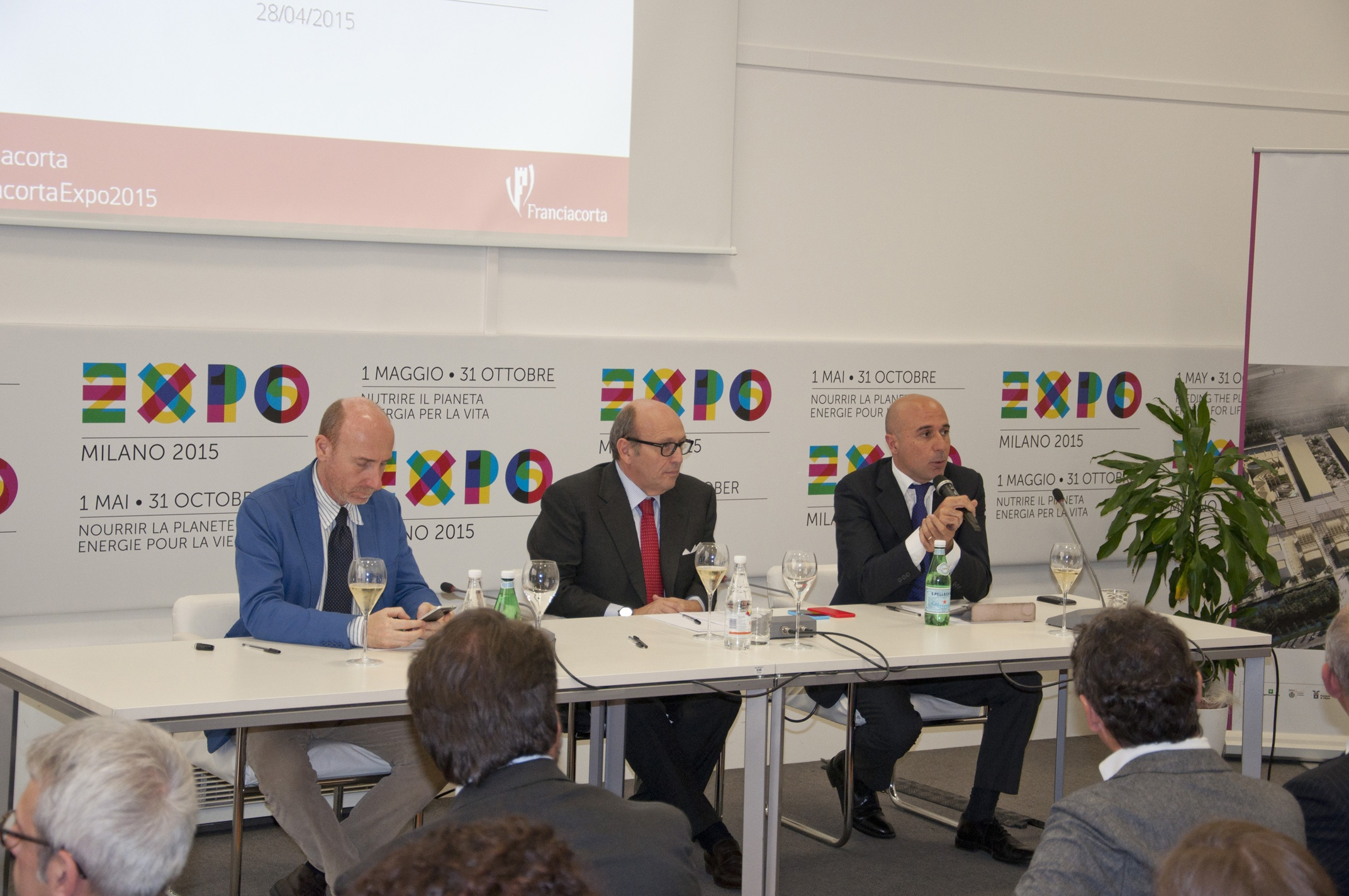 Franciacorta at Expo Milano 2015: the programme for the six months