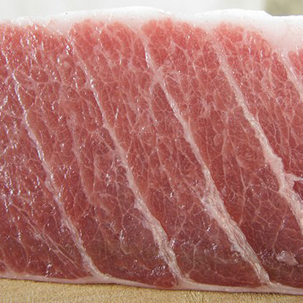 Fresh bluefin tuna ventresca - fresh from the coasts of Sicily