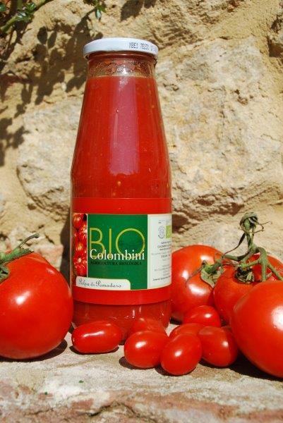 Biocolombini: bio Tomatensoße