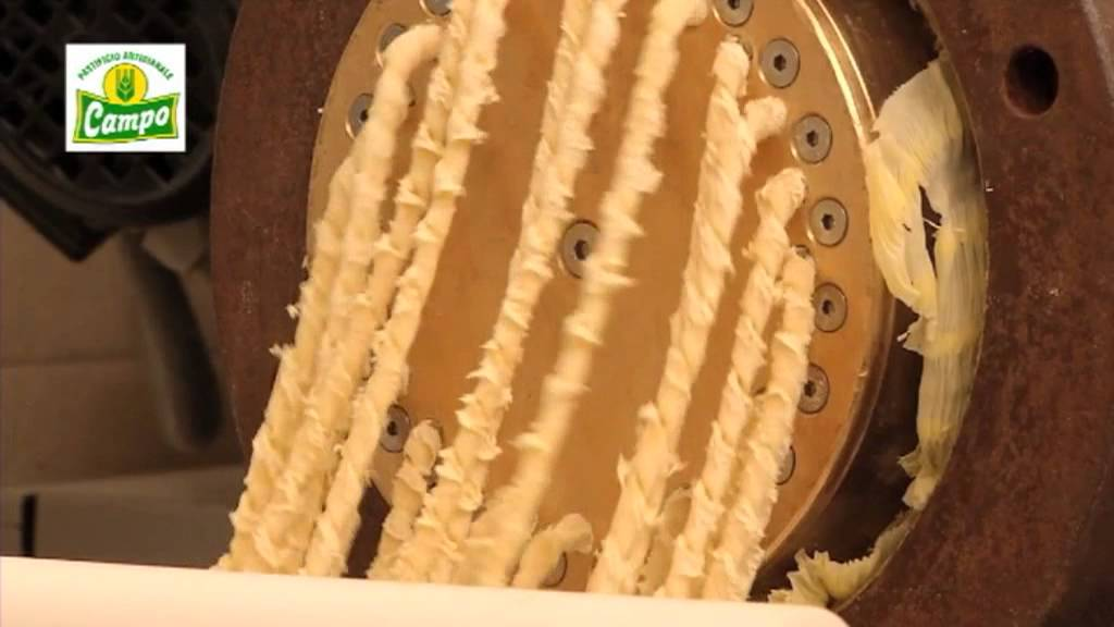 Die Pasta Campo wird ausschließlich aus sizilianischem Hartweizengrieß und Wasser hergestellt.