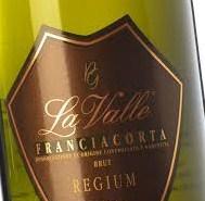 Vinitaly 2016 : Classifica degustazione Luca Gardini  Franciacorta Docg Brut Regium 2010 LA VALLE 94/100