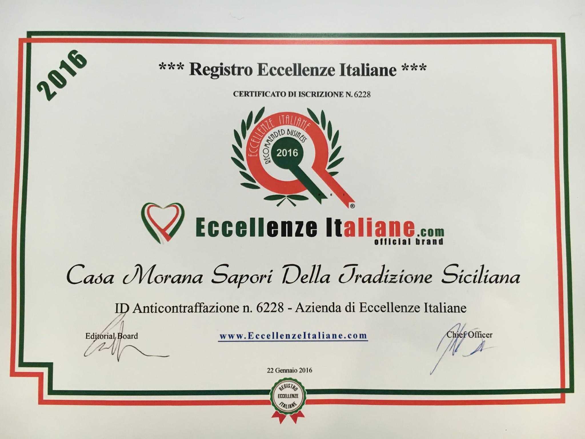 Casa MoranaEssere un punto di riferimento per qualità e genuinità in Italia, in Europa e nel Mondo.  Un'azienda innovativa che punta, attraverso l'etica e l'eccellenza, a diventare leader nella produzione conserve di pomodoro di alta qualità