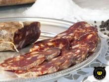 Soppressata rossa dolce di suino nero di Calabria