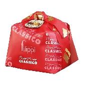 Pasticceria Filippi - Grande Dama - Panettone classico con uvetta e canditi