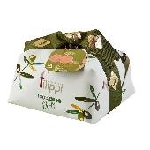 Pasticceria Filippi - Dolce natalizio 100% olio extra vergine di oliva con uvetta e canditi