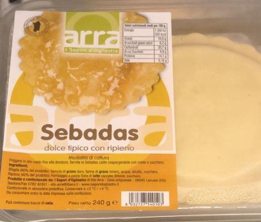 Seadas dolce tipico sardo  con ripieno - I Sapori d' Ogliastra