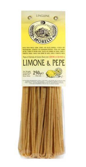 Linguine aromatizzate Limone e Pepe - Pastificio Morelli