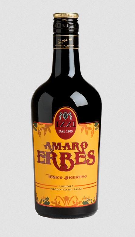 Fabbrica di liquori Izzi - Amaro Erbes Tonico Digestivo