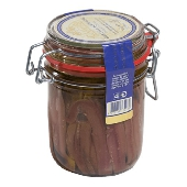 Filetti d'Acciughe in olio in vaso ermetico