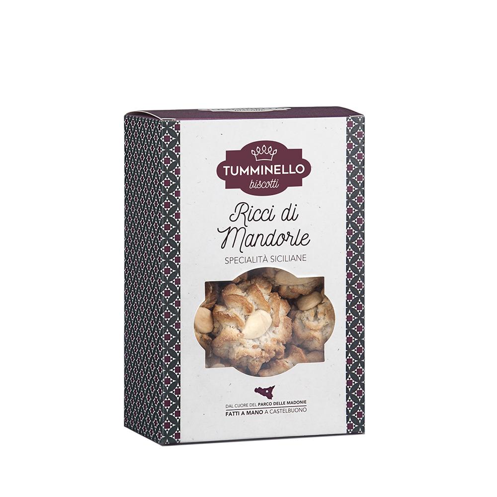 Biscotti Tumminello - Dolci  Siciliani Ricci di Mandorla