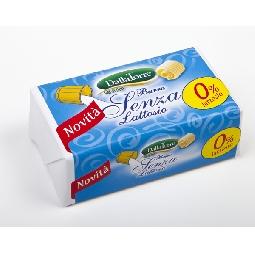 Burro Zero Lattosio