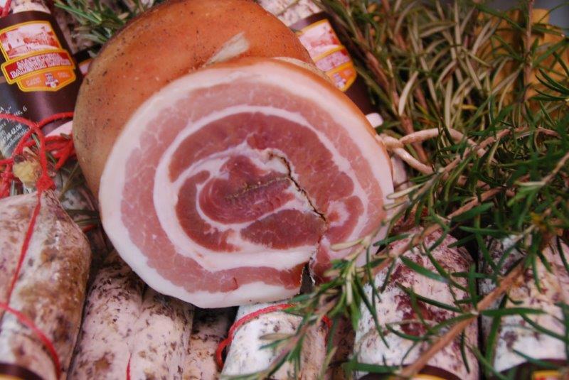 Pancetta(rigatino) Macelleria Balestri - Lari