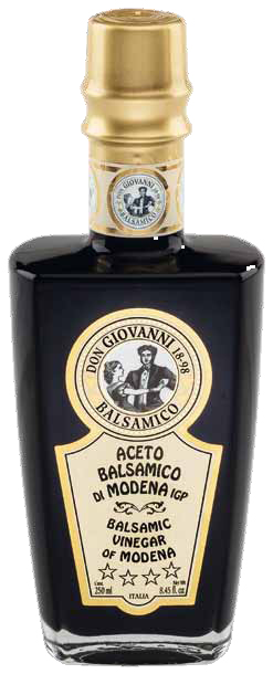 Aceto Balsamico di Modena I.g.p. 4 Stelle - Don Giovanni Acetaia Leonardi