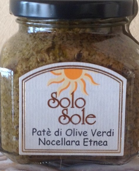 Pat� di Olive Verdi Nocellara Etnea - SoloSole