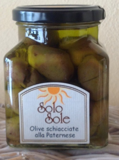 Olive Schiacciate alla Paternese - SoloSole