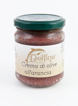 Crema di Olive all'Arancia - Delfino